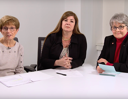 A patient, doctor, and nurse discussion about NTM lung disease